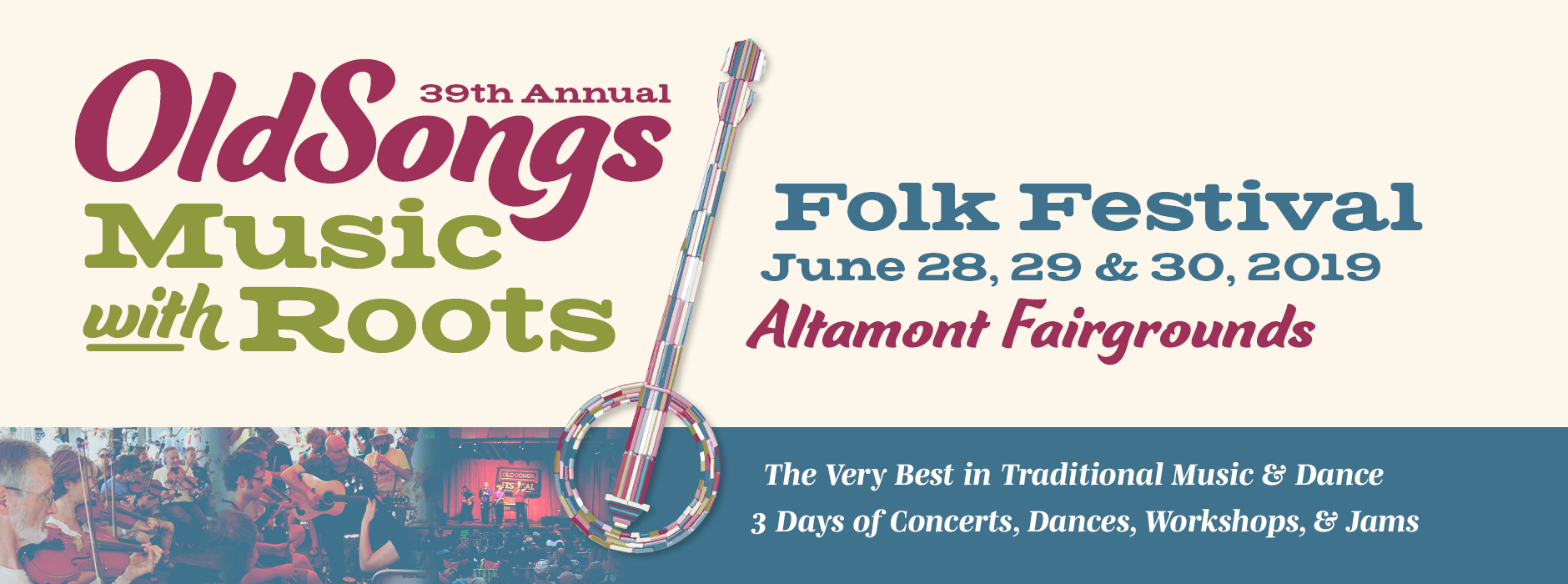 39th Annual Old Songs Folk Festival