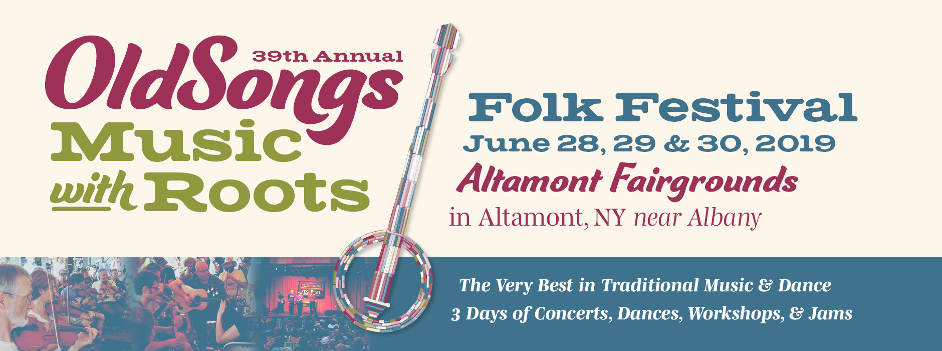 June 28, 28 & 30, 2019 at the Altamont Fairgrounds | 39th